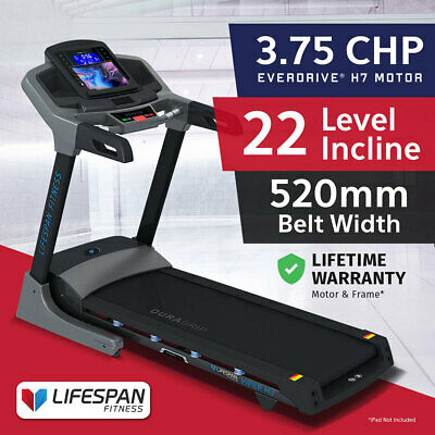 Lifespan VIPER #Light Commercial Fitness Treadmill 22 Incl Bluetooth 3CHP Motor