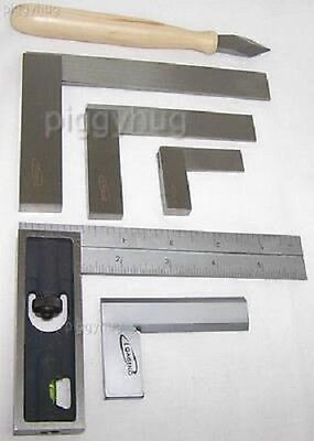 "Igaging precision square (2"",4"",6"" engineer) (4"",6""  double) ( 2"",3"" bevel) new"