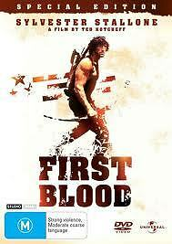 First Blood Dvd Special Edition Sylvester Stallone Brian Dennehy Rambo  New