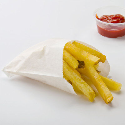 Large French Fry Bag 2000/CS    FAST Shipping !!!