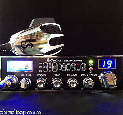 Cobra 29 LTD Chrome 40 Channel Classic CB Radio - Options Available In Our Store