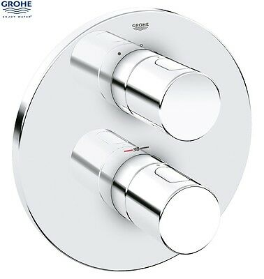 GROHE 19467 000 Grohtherm 3000 Cosmopolitan Finishing Trim Set ONLY, Chrome