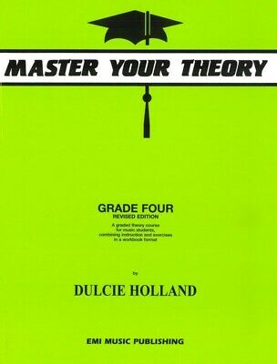 Master Your Theory Grade 4 Book by Dulcie Holland *Latest Edition* Four