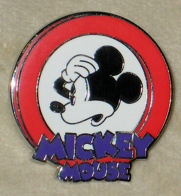 Oh Mickey Mouse Circle Mystery Pouch Disney Pin RED