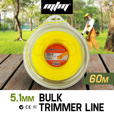 NEW MTM Trimmer Line 2.5mm x 60M Whipper Snipper Cord Brush Cutter Brushcutter