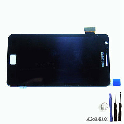 LCD Digitizer Touch Screen Glass Replacement for Samsung Galaxy S2 i9100 Black