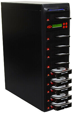 "SySTOR 1:9 SATA 2.5""&3.5"" Dual Port/Hot Swap Hard Drive HDD/SSD Duplicator/Wiper"