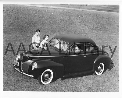 1940 Mercury Club Coupe, Factory Photo / Picture (Ref. #56521)