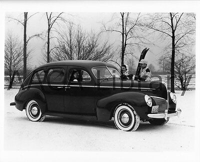 1940 Mercury Fordor, Factory Photo / Picture (Ref. #56522)