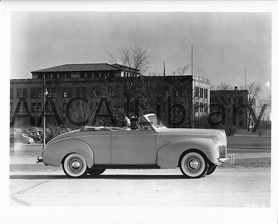 1940 Mercury Club Convertible Coupe Factory Photo Ref. #56525