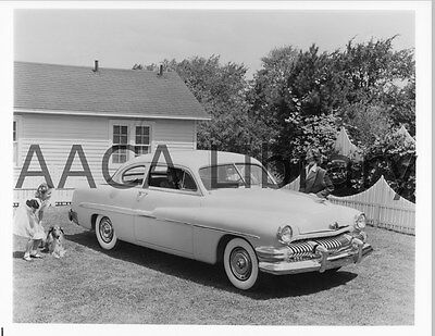 1951 Mercury Sport Coupe, Factory Photo / Picture (Ref. #56681)