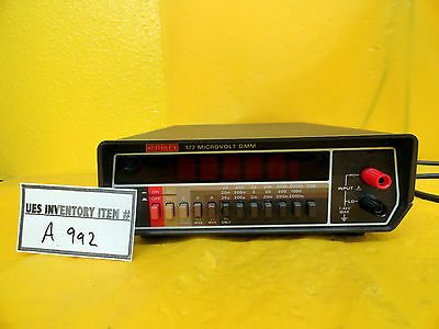 Keithley Multimeter 177 Microvolt DMM Used Working