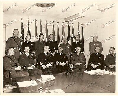 1950 ca WASHINGTON DC Lynde MCCORMICK with NATO Representatives at PENTAGON