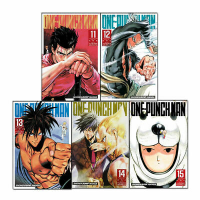 One-Punch Man Volume 11-14 Collection 4 Books Set (Series 3) Children Manga Book