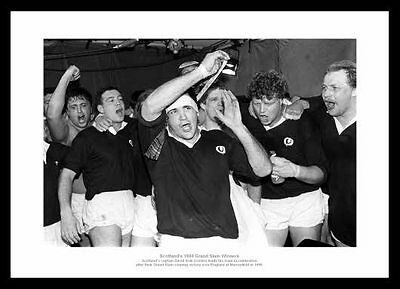 Scotland Rugby Team 1990 Five Nations Grand Slam Photo Memorabilia (266)