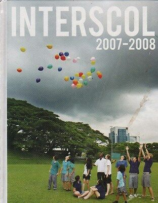 High School Yearbook Interscol Singapore 2008