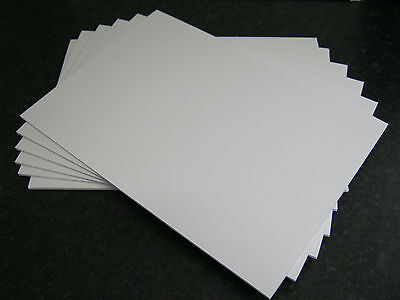 3Mm White Foam Board A4 Multiple Quantities Available 5 Sheets Only £3.99