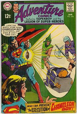 Adventure Comics #376 - Jan. 1969 - Fn- (5.5)