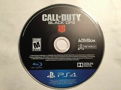 Call of Duty Black OPS IIII 4 PS4 (Playstation 4) Disc only