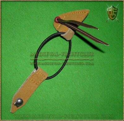 Archery bow saver medieval historical reenactment Longbow arrow