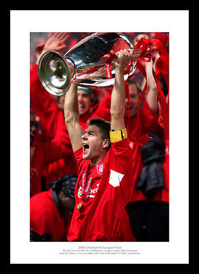 Steven Gerrard Liverpool 2005 Champions League Final Photo Memorabilia (148)