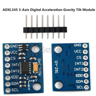 GY291 ADXL345 3-Axis Digital Acceleration of Gravity Tilt Module for Arduino