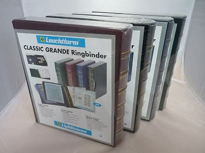 Lighthouse Classic Grande 4 ring ringbinder coin banknote album quallity