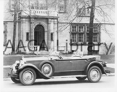 1929 Packard Model 645 Dual Cowl Phaeton, Factory Photo / Picture (Ref. #61665)
