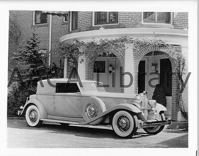 1931 Packard Model 904 Deluxe Eight Dietrich Conv., Factory Photo (Ref. #61705)