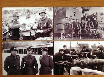 Set of 15 Photos - WW2 German Soldiers / Military / Army / Navy / Sailors / HMS