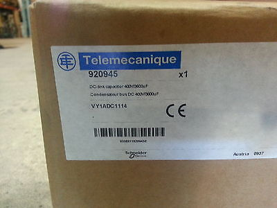 Telemecanique VY1ADC1114 capacitors NEW 920945