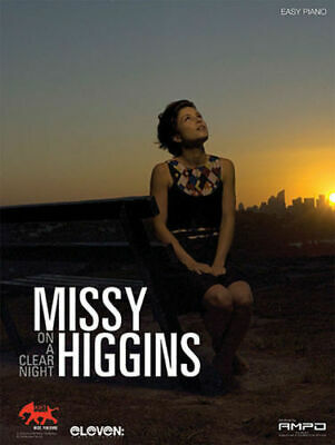 MISSY HIGGINS - On A Clear Night Easy Piano Book *NEW* Vocal Sheet Music