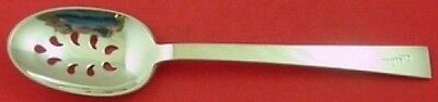Continental by International Sterling Silver Serving Spoon Pierced 9-Hole Orig