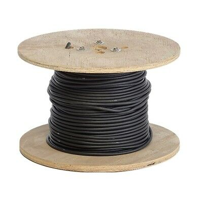 100' #1 Black Flexaprene Welding Cable, boxed Made in USA (DWCCAB1-100)