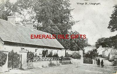 N. Ireland - Armagh - LOUGHGALL - Village St - old Irish  postcard - Posted 1910