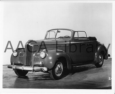 1941 Packard 110 Convertible Coupe, Factory Photo / Picture (Ref. #61902)