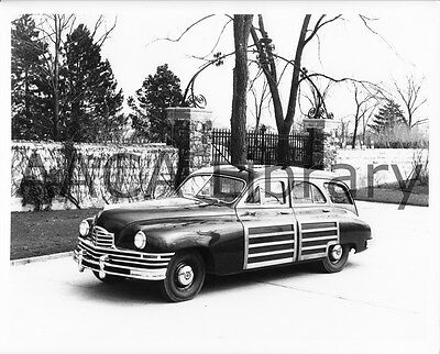 1948 Packard Eight Station Wagon, Factory Photo / Picture (Ref. #61986)
