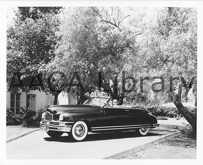 1949 Packard Custom Eight (8) Convertible Coupe, Factory Photo (Ref. #62001)