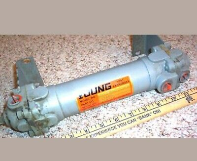 "Young Heat Exchanger Xhf-201-Hy-1P 13""x2"" New Old Stock"