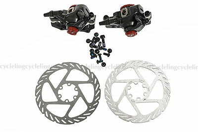 Avid BB7 Mechanical Disc Brake Front and Rear Calipers 160mm G2 Rotors