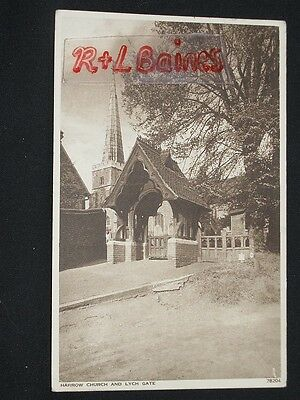 Harrow Church and Lych Gate, Middlesex, London
