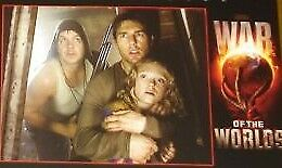 WAR OF THE WORLDS - 11x14 US Lobby Cards Set - Tom Cruise, Steven Spielberg