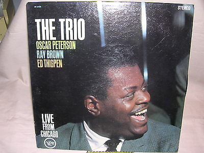 Oscar Peterson, Ray Brown, Ed Thigpen The Trio Live from Chicago V6-8420