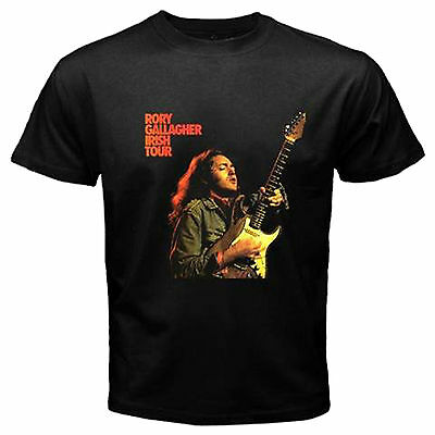 Rory Gallagher Guitar Hero Blues Fender Irish Tour No Cd T Shirt Size S-3Xl