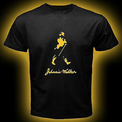 Johnnie Walker Gold Red Black Label Scotch Whisky Johnny Alcohol  T Shirt S-3XL