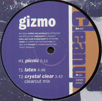 GIZMO - Picnic / Latex - 1996 Clean Up - CUP029