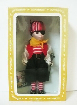 """MIB 1182 Captain Kidd 11"""" PIRATE Doll EFFANBEE Storybook Collection 1983 NWT"""