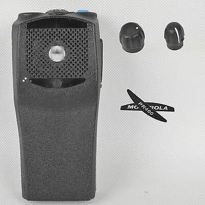 Black Replacement Repair Case Housing Cover Part for PR400 Portable Radio