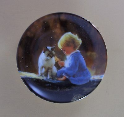 JUST WE TWO Mini Plate Moments to Remember Donald Zolan Miniature MIB #1