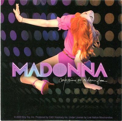 MADONNA confessions on a dance floor STICKER **Free Shipping** - d 15729